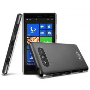Ультратонкий пластиковый полупрозрачный чехол для Nokia Lumia 820