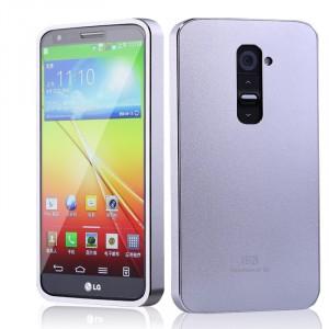 Металлический чехол серия Full Cover для LG Optimus G2
