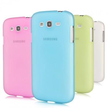 Пластиковый полупрозрачный чехол для Samsung Galaxy Grand / Grand Neo