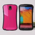 Силиконовый анатомический премиум чехол для Samsung Galaxy Note 3