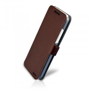 Чехол флип подставка с застежкой для HTC Desire 300