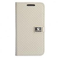 Чехол портмоне подставка с застежкой для HTC Desire 300 Бежевый