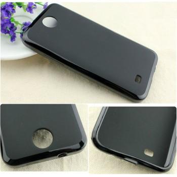 Силиконовый чехол для HTC Desire 300 Черный
