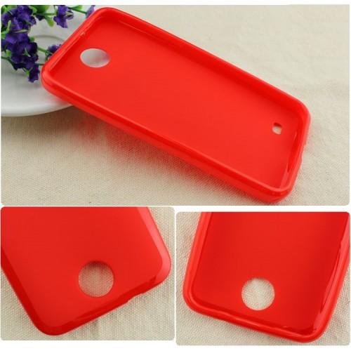 Силиконовый чехол для HTC Desire 300 Красный