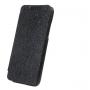 Кожаный чехол книжка горизонтальная (нат. кожа) для HTC Desire 300