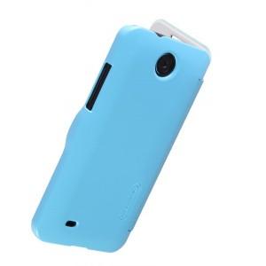 Чехол флип серия Colors для HTC Desire 300 Голубой