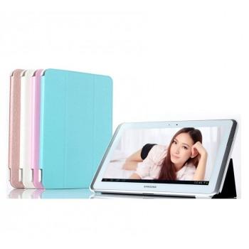 Чехол смарт флип подставка сегментарный серия Smart Cover для Samsung Galaxy Tab 4 10.1
