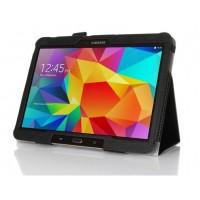 Чехол подставка серия Full Cover для Samsung Galaxy Tab 4 10.1 Черный