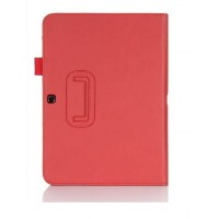 Чехол подставка серия Full Cover для Samsung Galaxy Tab 4 10.1 Красный
