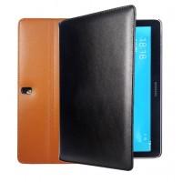 Кожаный чехол подставка серия Full Wallet для Samsung Galaxy Tab Pro 10.1 Черный