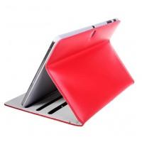 Кожаный чехол подставка серия Full Wallet для Samsung Galaxy Tab Pro 10.1 Красный