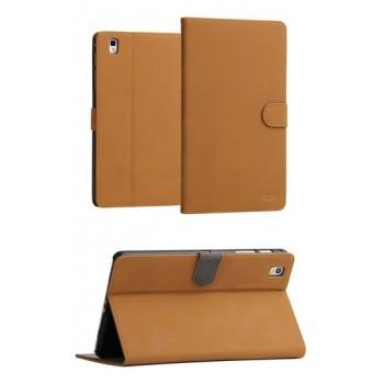Винтажный чехол флип подставка с застежкой серия Just Stand для Samsung Galaxy Tab Pro 8.4 Бежевый