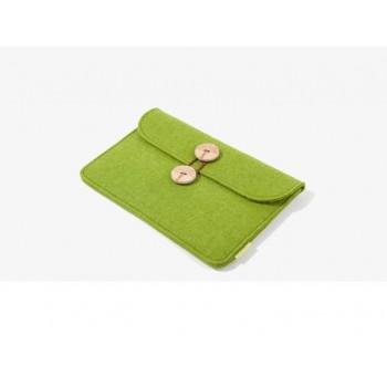 Многофункциональный дизайнерский чехол папка войлок для ASUS Nexus 7 II 2013 Зеленый