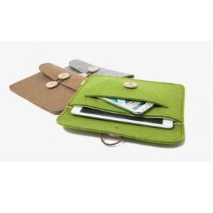 Многофункциональный дизайнерский чехол папка войлок для ASUS Nexus 7 II 2013