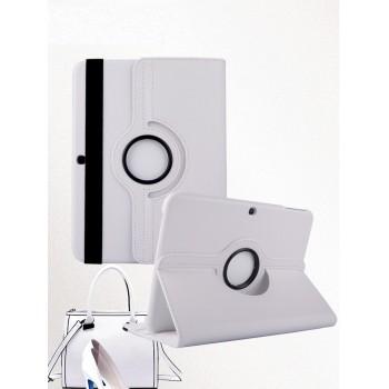 Чехол подставка роторный для Samsung Galaxy Tab 4 10.1 Белый