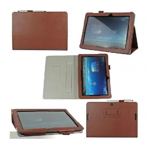 Чехол подставка с внутренними отсеками серия Full Cover для ASUS MemoPad FHD 10 ME102a