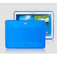 Силиконовый чехол для Samsung Galaxy Note 10.1 2014 Edition Синий