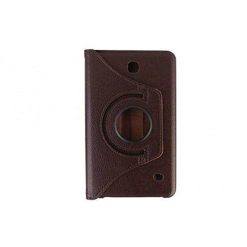 Чехол подставка роторный для Samsung Galaxy Tab 4 7.0 Фиолетовый