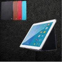 Кожаный чехол смарт флип подставка (нат. кожа) серия First Wish для Samsung Galaxy Tab Pro 10.1