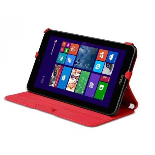 Чехол подставка текстурный для ASUS VivoTab Note 8 Красный