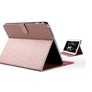 Чехол портмоне подставка текстурный серия Honeycomb для Samsung Galaxy Tab 4 10.1