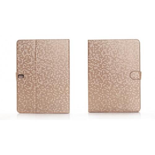 Чехол подставка серия Flasing Diamond для Samsung Galaxy Tab Pro 10.1 Коричневый