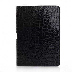 Чехол подставка серия Croco Pattern для Samsung Galaxy Note 10.1 2014 Edition Черный