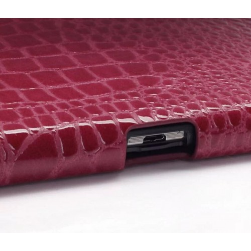 Чехол подставка серия Croco Pattern для Samsung Galaxy Note 10.1 2014 Edition
