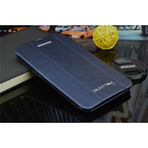 Чехол смарт флип подставка сегментарный серия Smart Cover для Samsung Galaxy Tab 4 7.0 Синий