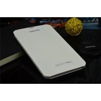 Чехол смарт флип подставка сегментарный серия Smart Cover для Samsung Galaxy Tab 4 7.0 Белый