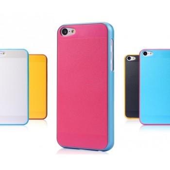 Пластиковый чехол с покрытием Soft Touch для Iphone 5c