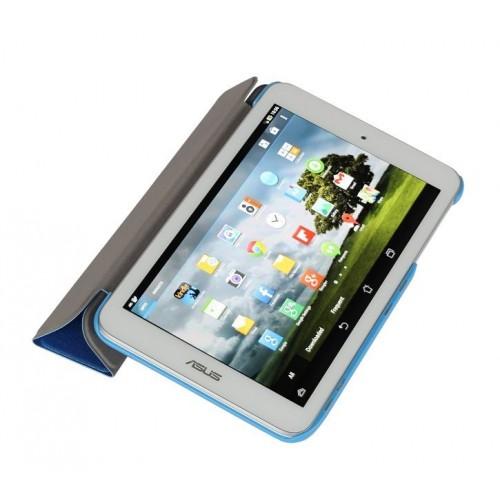 Чехол флип подставка сегментарный для ASUS MeMoPad HD 8 Голубой