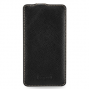 Кожаный чехол книжка вертикальная (нат. кожа) для Nokia Lumia 1320