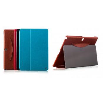 Кожаный чехол смарт флип подставка (нат. кожа) серия First Wish для Samsung Galaxy Note Pro 12.2