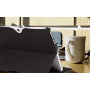 Чехол подставка текстурный для Samsung Galaxy Tab 4 10.1 Черный