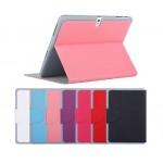 Чехол смарт флип подставка текстурный с застежкой для Samsung Galaxy Tab Pro 10.1