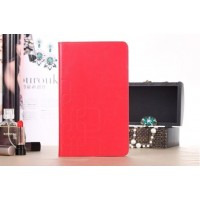 Чехол портмоне подставка текстурный серия Square Bubbles для Samsung Galaxy Tab Pro 8.4 Красный