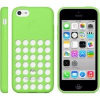 Оригинальный силиконовый чехол Apple для Iphone 5c Зеленый