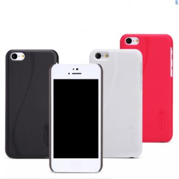 Пластиковый матовый премиум чехол для Iphone 5c