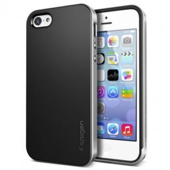 Оригинальный премиум чехол силикон/поликарбонат для Iphone 5c Серый