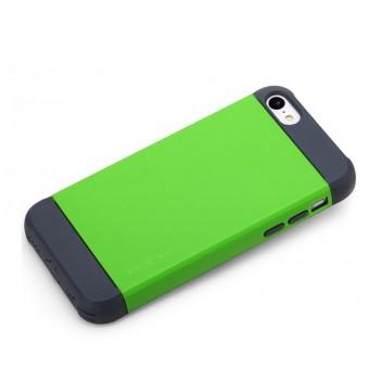 Чехол силикон/поликарбонат D-Colour для Iphone 5c