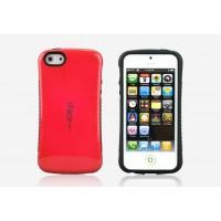 Силиконовый чехол серия Waist для Iphone 5c Красный