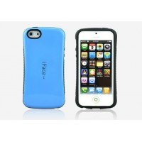 Силиконовый чехол серия Waist для Iphone 5c Голубой
