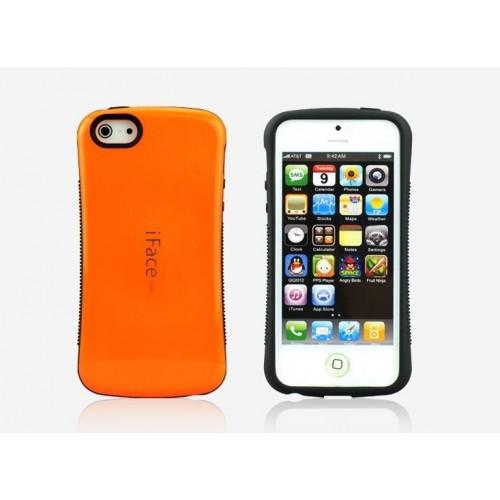 Силиконовый чехол серия Waist для Iphone 5c Черный
