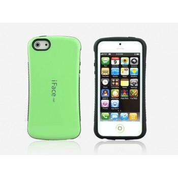 Силиконовый чехол серия Waist для Iphone 5c Зеленый
