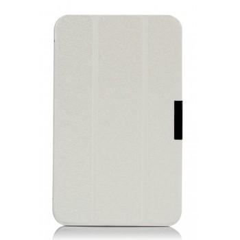 Чехол флип подставка сегментарный для ASUS MeMoPad HD 8 Белый