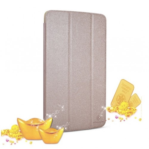 Чехол смарт флип подставка серия Sparkle для LG G Pad 8.3 Белый