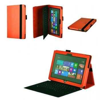 Чехол подставка серия Full Cover для Microsoft Surface Pro 2 Оранжевый
