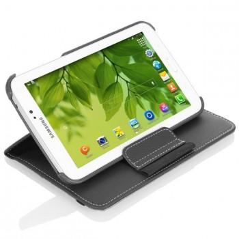 Кожаный чехол подставка роторный для Samsung Galaxy Tab 4 7.0