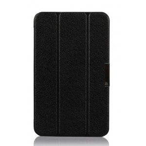 Чехол флип подставка сегментарный для ASUS MeMoPad HD 8 Черный
